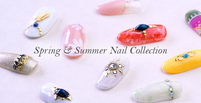 2016 Spring & Summer Nail Collection -春夏ネイル-